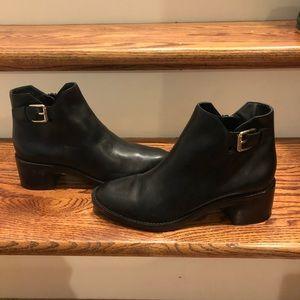 Cole Haan black boots sz 6 new